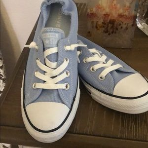 Converse All Star Sky Blue Low, Slip On Sneaker 9
